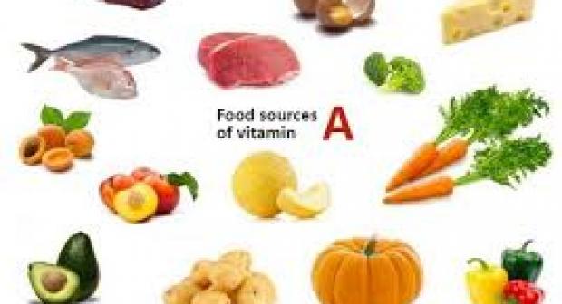 اعراض نقص فيتامين أ A وكيف تحصل عليها
