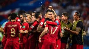هدف كريستيانو رونالدو الثالث ضد إسبانيا في كأس العالم 2018